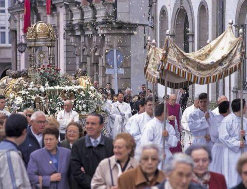 Ofrenda del Reino de Galicia al Santísimo Sacramento